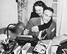 Olivia de Havilland  and Marcus Goodrich