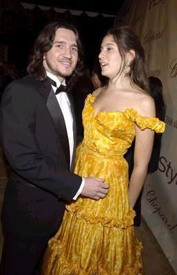 John Frusciante  and Stella Schnabel