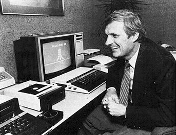 Alan Alda  (c.1983), spokesperon for Atari