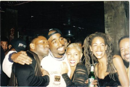 Jada Pinkett Smith and Tupac Shakur