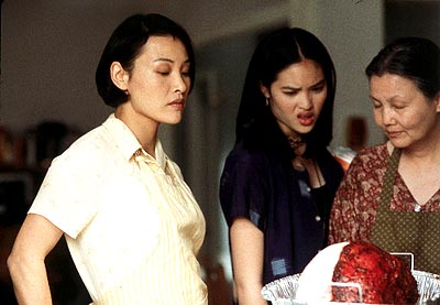 Kristy Wu Joan Chen,  and Kieu Chinh in Trimark's What's Cooking? - 2000