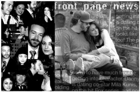 Mila Kunis  and Danny Masterson