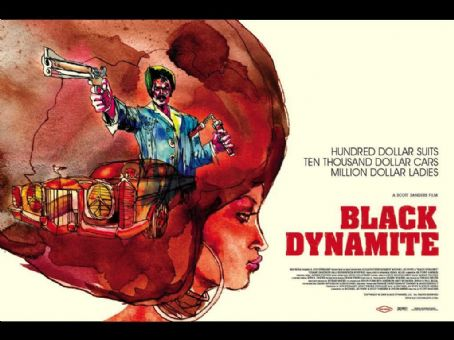 Michael Jai White Black Dynamite Poster Wallpaper