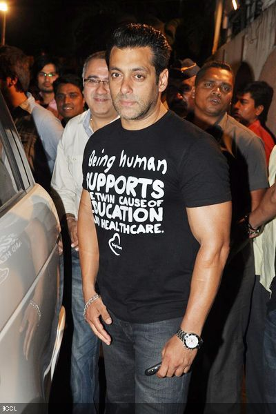 Salman Khan at the opening of Kallista Spa 2012