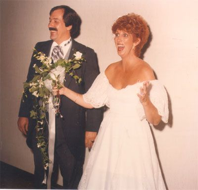 Marcia Wallace  and Dennis Hawley