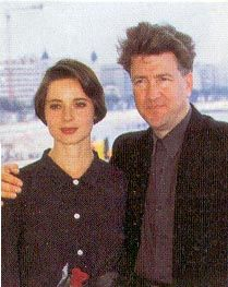 David Lynch  and Isabella Rossellini