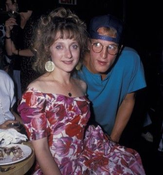 Carol Kane  and Woody Harrelson