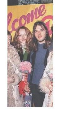 David Gilmour and Ginger Gilmour