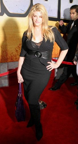 Kirstie Alley  at Wild Hogs Premiere