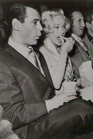 Mamie Van Doren  and Ray Anthony