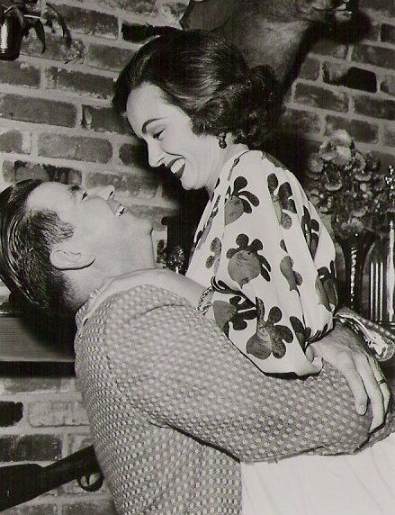 Ann Blyth  and Dr. James McNulty