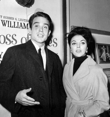Warren Beatty Joan Collins and