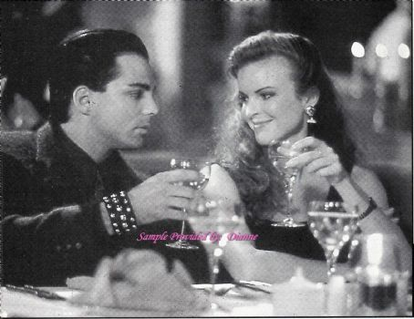 Marcia Cross  and Richard Grieco - appearance on TV show BOOKER