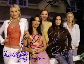 Marcia Cross - with cast of Desperate Housewives
