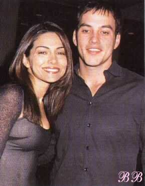 Tyler Christopher and Vanessa Marcil