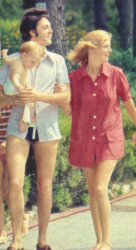 Linda McCartney  and Paul McCartney
