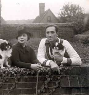 Basil Rathbone  and Ouida Bergere