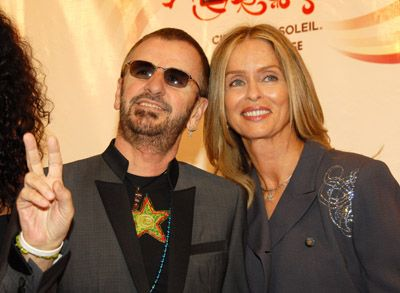 Barbara Bach Ringo Starr and
