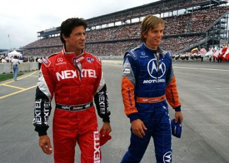 Driven Sylvester Stallone and Kip Pardue in Warner Brothers'  - 2001