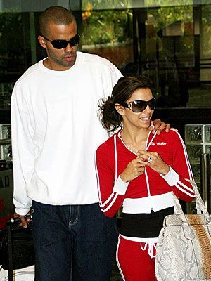 Tony Parker Eva Longoria and