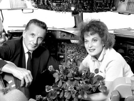 Maureen O'Hara Charles F. Blair, Jr. and