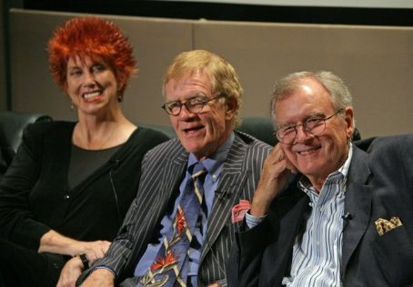 Marcia Wallace  (left) from a reunion of The Bob Newhart Show