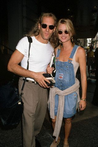 Michael Bolton  and Nicolette Sheridan in 1994