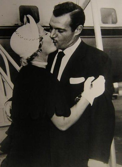 Betty Hutton  and Ted Briskin