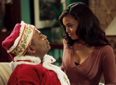 Mekhi Phifer  with Sharon Leal in THIS CHRISTMAS
