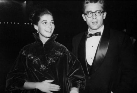 James Dean and Pier Angeli