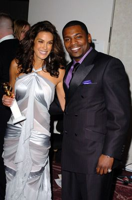 Mekhi Phifer  and Teri Hatcher - 62nd Golden Globe