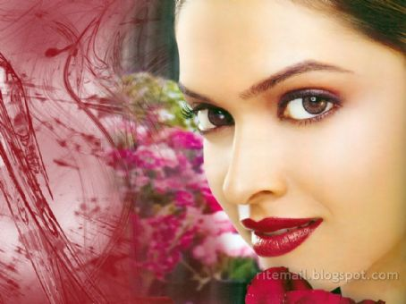 Deepika Padukone for the commercial of Maybelline