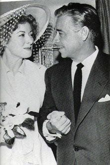 Greer Garson  and E.E. Fogelson