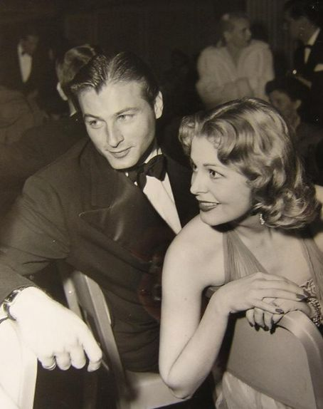 Arlene Dahl Lex Barker and