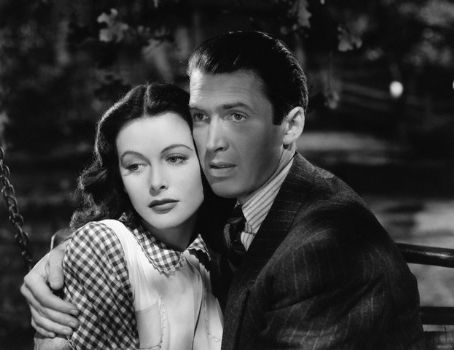 James Stewart Jimmy Stewart and Hedy Lamarr