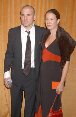 Dominic Purcell and Rebecca Purcell