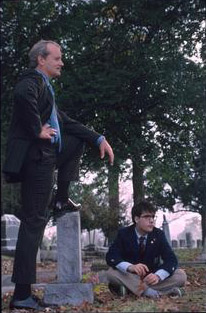 Bill Murray and Jason Schwartzman in Touchstone's Rushmore - 1998