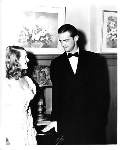 Howard Hughes  and Bette Davis