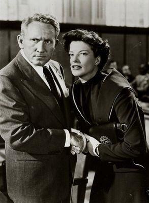 Katharine Hepburn  and Spencer Tracy