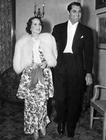 Cary Grant Mary Brian and  @ Mayfair Club on April 19, 1936