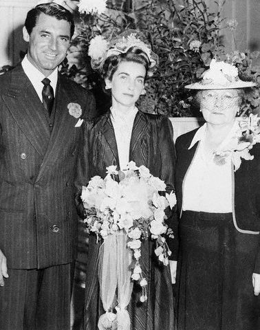 Barbara Hutton  and Cary Grant Wedding