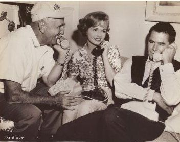 Glenn Ford  and Debbie Reynolds