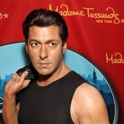 Wax Figure of Salman Khan unveiled at Madame Tussauds New York