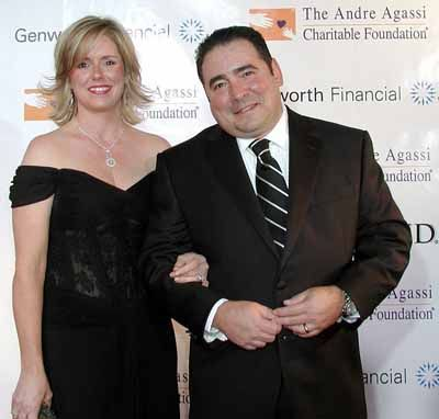 Emeril Lagasse  and Alden Lovelace