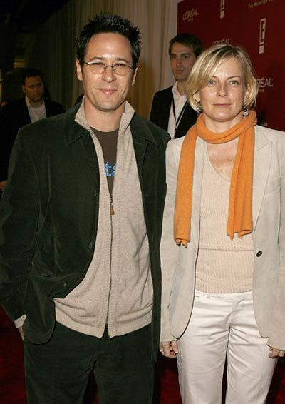 Rob Morrow  and Debbon Ayer on March 4, 2006 - Pre-Oscar Party
