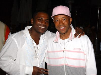 Russell Simmons  with Mekhi Phifer