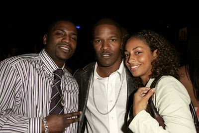 Jamie Foxx , Mekhi Phifer and guest