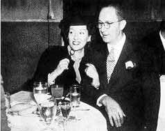 Gloria Swanson  and George William Davey