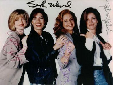 Sela Ward  - cast from SISTERS