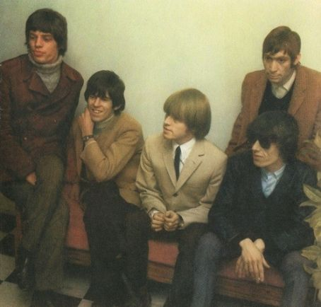 Brian Jones The Rolling Stones - Mick, Keith, Brian, Bill, and Charlie